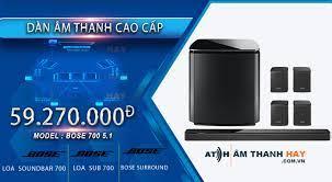 Dàn âm thanh Bose 700 5.1 - Âm thanh hay