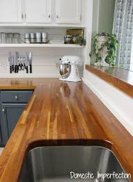 butcher block counters