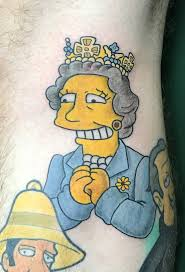 Simpsons Rampant Ink Tattoo Studio Nottingham