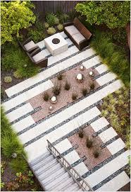 modern patio pavers.  Modern Modern Paver Patio   Furniture Pavers Plantings  Reflective River Rock For Modern Patio Pavers R