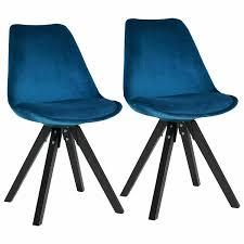 Esstisch Stühle Samt Grün
