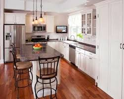 Traditional Kitchens Small White L Shaped Kitchen Layouts Ideas