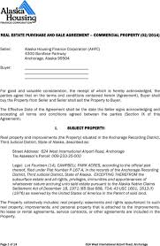 Download Alaska Offer To Purchase Real Estate Form For Free ...