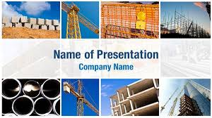 photo collage template powerpoint construction collage powerpoint templates construction collage