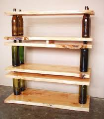 table recycled materials. Recycled Materials Homemade Shelf And Table