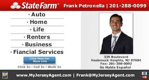 frank petronella state farm insurance agent insurance 339 blvd hasbrouck heights nj phone number yelp