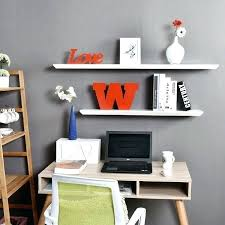 36 wall shelf awesome inch white floating wall shelves for interesting office book storage or shelf