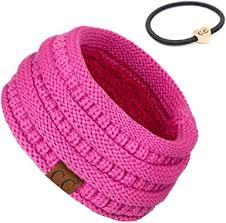 C.C Exclusives Solid Ribbed Headwrap Bundle Hair Tie (<b>HW-21</b> ...