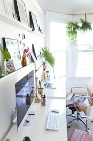 white airy home office. Cozy Home Office Ideas About On Homes Pertaining To Bright And Airy Small With Built In White S