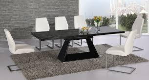 Expandable Glass Dining Room Tables Interior Impressive Design Ideas