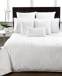 closeout hotel collection modern hexagon white bedding collection
