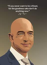 'Jeff Bezos' Poster by Ratna Mutia Dewi ...