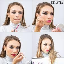 3 easy carnival makeup tutorials mime cat and tribal princess 4 10