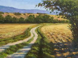 tuscany field tuscan countryside italian landscape