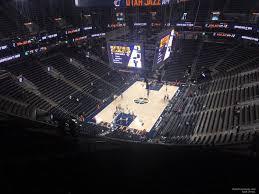 Vivint Smart Home Arena Seating Chart Vivint Smart Home Arena Section 139 Utah Jazz