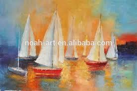 sailing boats abstract paintings