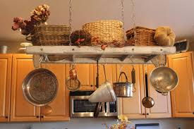 Hanging Bakers Rack Kitchen Kitchen Island Pot Storage Best Kitchen Island 2017