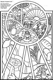 Kleurplaat Glas In Lood Raam Glas In Lood Kleurplaten