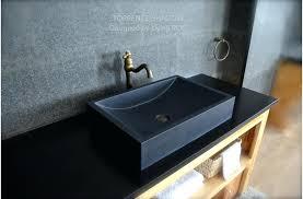 black granite bathroom black granite natural honed stone bathroom sink shadow bathroom ideas with black granite