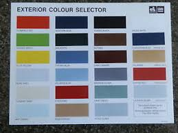 Veritable Holden Colour Chart 2019