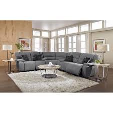 reclining sectional grey.  Reclining Permalink To Best Of Grey Reclining Sectional Sofa To I