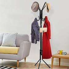 Coat Rack Uk Beauteous STYLISH COAT RACK Hat Stand Hanger Metal Hall Tree Hook Holder Hooks
