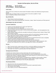 Housekeeping Job Description For Resume 40 Hotel