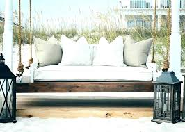 outdoor hanging daybed porch swing plans