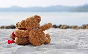 Cute Teddy Bears Romantic Wallpaper Hd ...