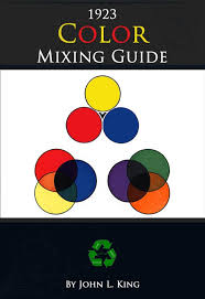 Color Mixing Guide Rare Old 1923 How To Guide With Hints Tips And Mixtures 82 Pages Printable Or Read On Your Tablet Instant Download