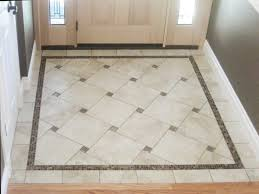 Basket Weave Tile And Wood Floor Design... Would be beautiful in an entry