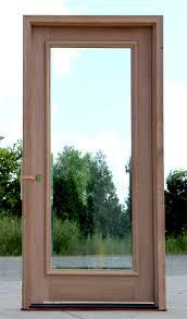 design stunning glass exterior door full lite exterior door with clear bevel glass