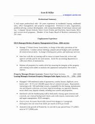 Property Manager Sample Resume Impressive Property Manager Resume Sample Unique Professional Property Manager