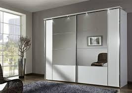 white sliding door wardrobe with mirror saudireiki in white mirrored wardrobes image 15 of