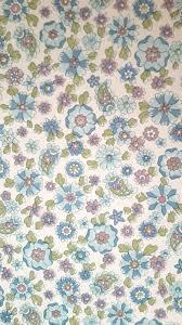 Vrij Vintage Behang Blauwe Liberty Etsy