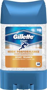 <b>Дезодорант</b>-антиперспирант гелевый - <b>Gillette</b> Triumph <b>Sport</b> Anti ...