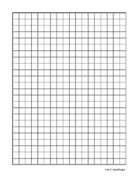 Graph Paper 1cm By 1cm By Math That Students Build Tpt