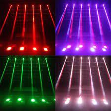 Satın Al Lixada 50 W LED Sahne Işık Efekti Hareketli Kafa DMX512 Ses Aktif  11/13 Kanallar Için Disko KTV Kulübü Için RGBW Işın Işık Parti, TL1,080.5