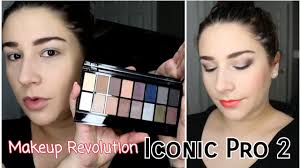 <b>Makeup Revolution Iconic Pro</b> 2 Eyeshadow Palette Makeup Look ...