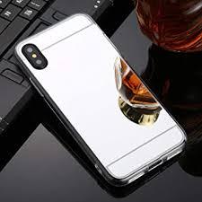 Feiji <b>Fashion</b> TPU + <b>Acrylic</b> Luxury Plating Mirror <b>Phone</b> Case Cover