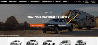 Chevrolet Suburban Towing Capacity Chart How To Find Your Trucks Towing Capacity By Vin Number