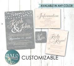 diy wedding invitation kit uk grey blush invitations thank you card save the date printable postcard