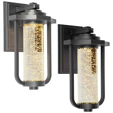 artcraft ac9012 north star traditional 8 nbsp wide led exterior wall light fixture loading zoom