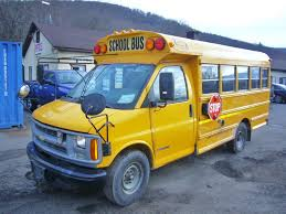2001 Chevy 3500 School Bus for sale by Arthur Trovei & Sons - used ...