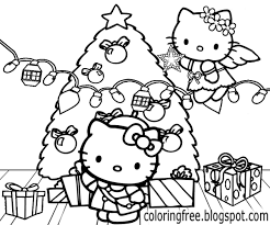 Hello Kitty Coloring Pages Printable Free Printable Coloring Page