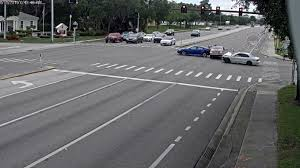 Red Light Ticket Sarasota Watch Car Runs Red Light Hits 2 Vehicles In Sarasota