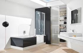 chic modern bathtub shower modern walk in bathtubs with shower combo walk in bathtubs for
