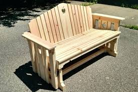 patio glider bench large size of swing bench deck replacement cushions outdoor glider chair covers stunning