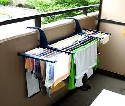 balcony clothing drying rack laundry
