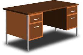 desk clipart. Brilliant Clipart An Office Desk Clip Art In Clipart H